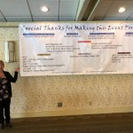 Sponsor Banner with Theresa Noska, WLA Corporate Tummler