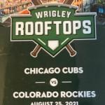 Cubs Rooftop 2021